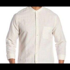 Theory brand new linen shirt